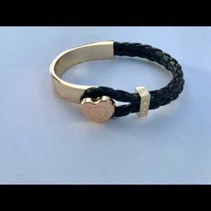 Black and Gold Fashion Bracelet